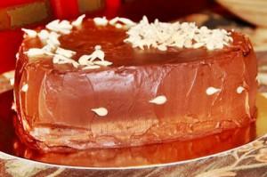 Шоколадный торт с маскарпоне и бейлиз