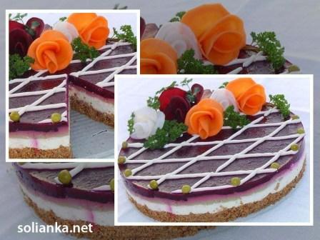 закусочный торт презентация