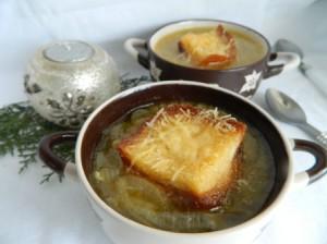 Французский луковый суп фото-рецепт
