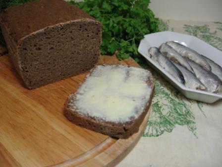домашний ржаной хлеб рецепт