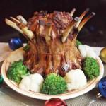 Свиные ребрышки в духовке в цитрусово-медовой глазури