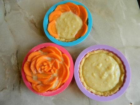 цветы в пирожном