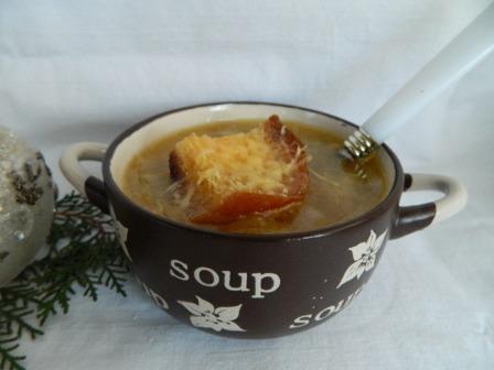 настоящий французский луковый суп