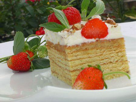 торт кусочек