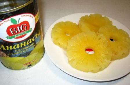 Кольца ананасов