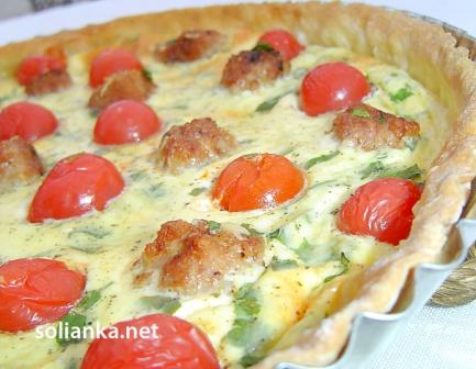 рецепт французского пирога киш