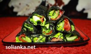 Новогодний рецепт суши-шаверма