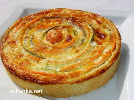 овощной пирог коронное блюдо