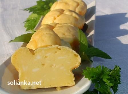 кексы с сыром разрезанные