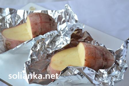 картошка в фольге