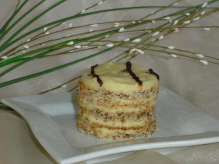 торт эстерхази в домашних условиях с фото