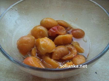 разморозить абрикосы