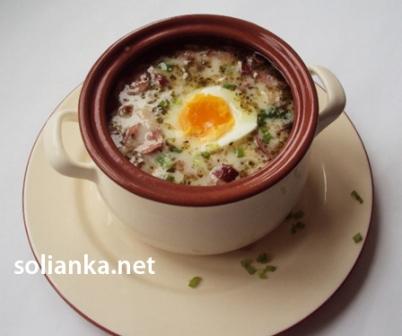 рецепт суп журек