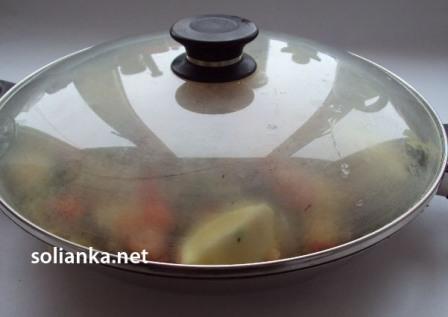 паэлья в сковородке