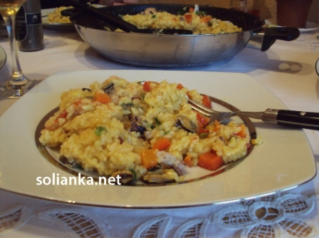 фото рецепт паэлья с морепродуктами