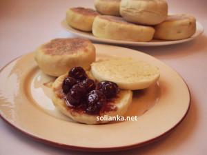 Английские маффины – они же булочки на сковороде