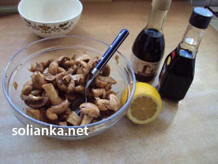 соус для маринования грибов