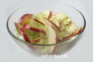Салат из черешкового сельдерея для похудения