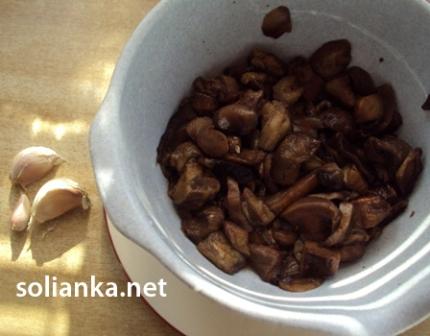рецепт для жареных грибов