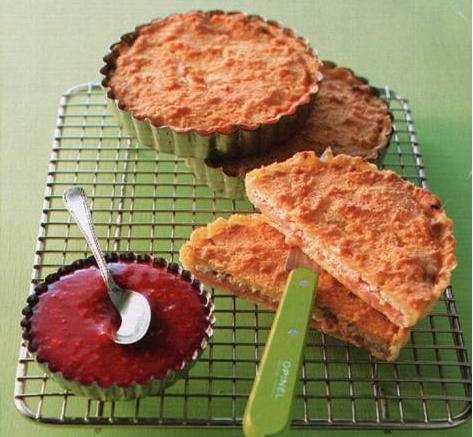 пироги с ревенем