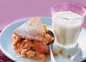 рецепт блюда из ревеня - десерт