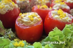 Фаршированные помидоры – холодная закуска