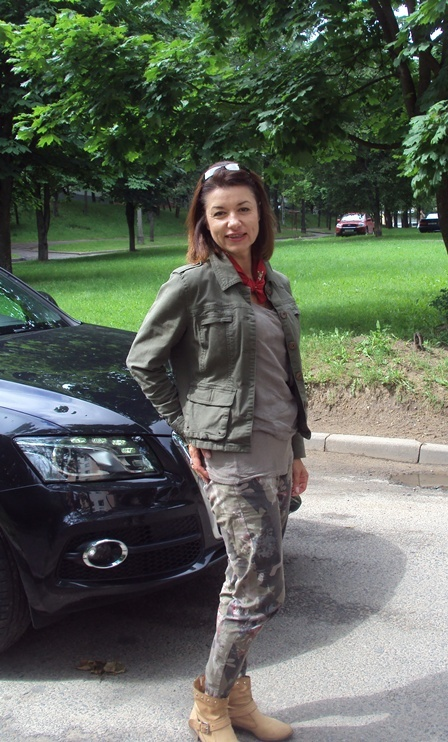 стилист Татьяна Трофимчук