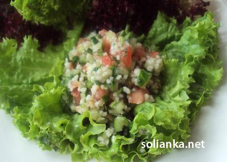 табуле - это салат с кус-кусом