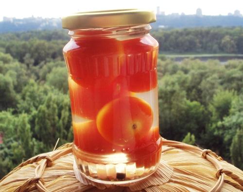 помидоры черри в уксусе