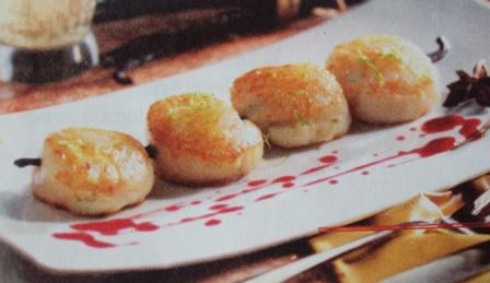 морской гребешок - рецепт приготовления