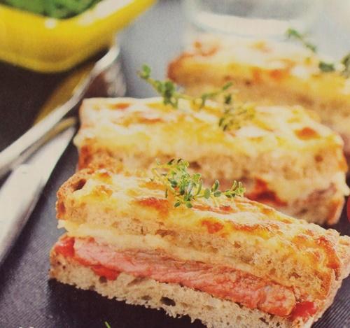 горячие бутерброды - рецепты