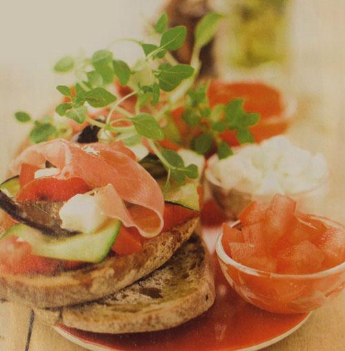 летние бутерброды - рецепты