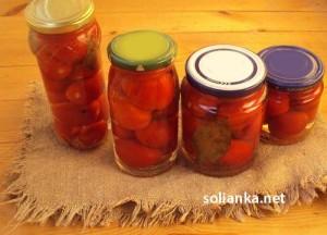 Самые простые маринованные помидоры на зиму без стерилизации