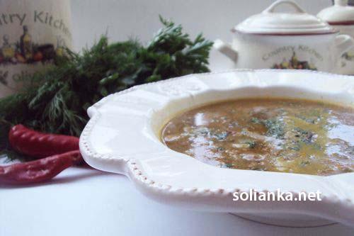 """рецепт """"суп с белыми грибами"""""""