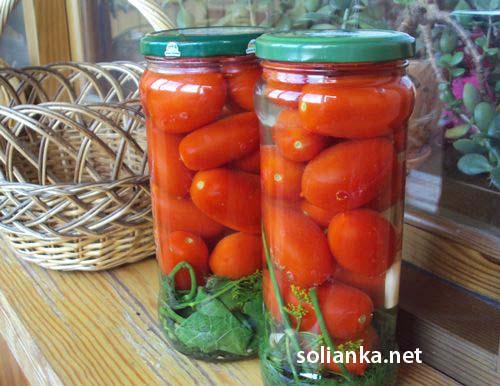 как солить помидоры на зиму
