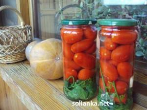 Вкусная засолка помидоров на зиму