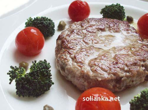 бифштекс рубленный из говядины