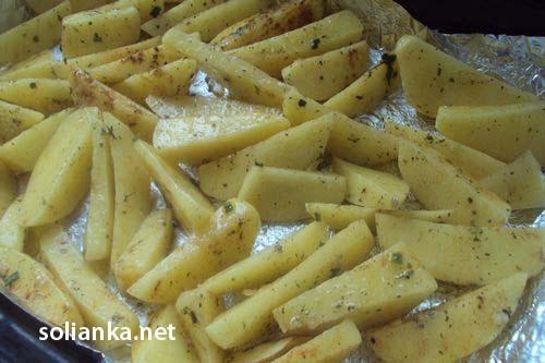 рецепт приготовления картофеля по-деревенски в духовке