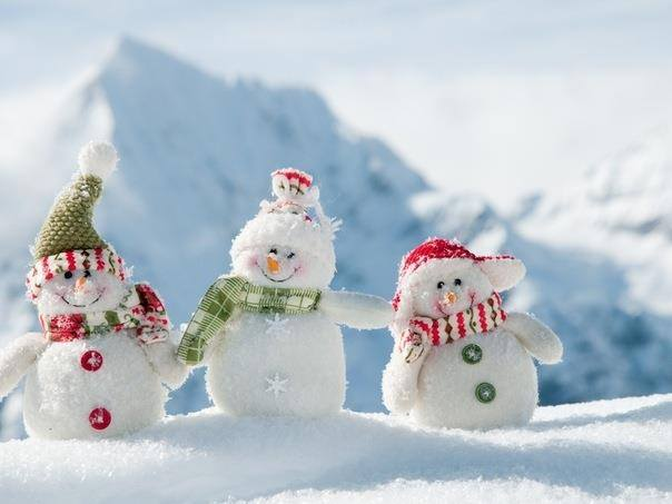 снеговик2
