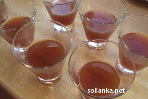 алкогольное желе в стаканчиках