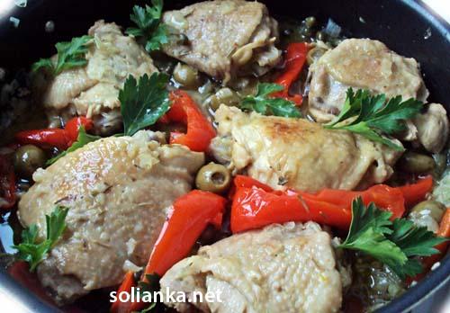 рецепт блюда из курицы на сковороде