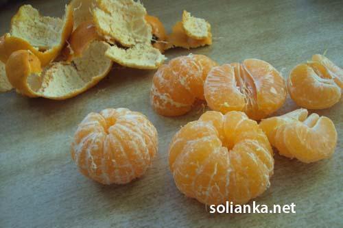 мандарины для курицы в соевом соусе