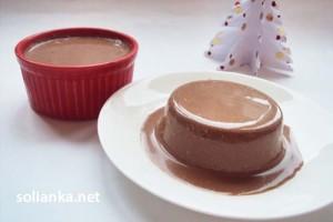 Панакота – рецепт с шоколадом
