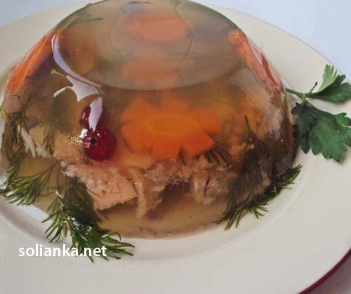 заливное из красной рыбы семги - рецепт