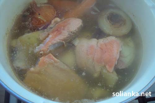 рыбное заливное с желатином