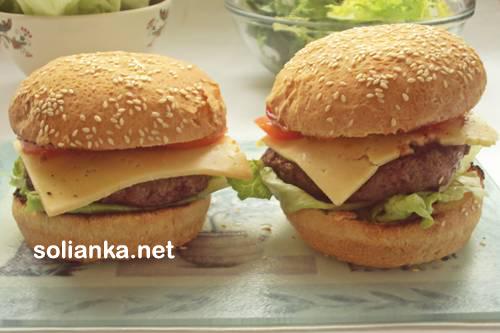 гамбургер в домашних условиях11