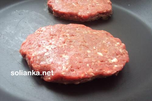 котлета для гамбургера рецепт