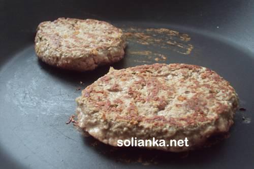 как делать гамбургер - рецепт с фото