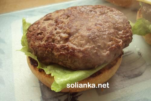 гамбургер в домашних условиях7