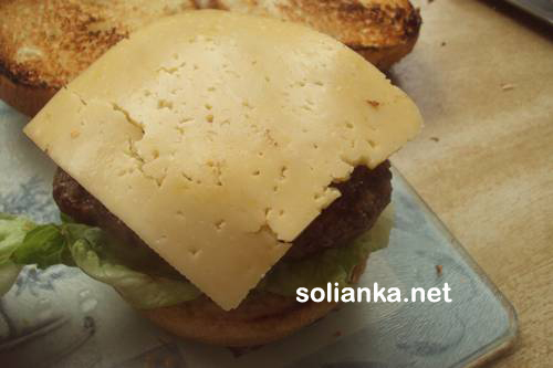 гамбургер в домашних условиях8